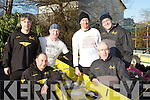 The Muckross Rowing club Men's Masters crew who competed at the Killorglin Head of the River on Saturday was l-r: Jeremy Kenny, Andrew Wharton, Pat O'Connor, Maurice Coffey, Sean Coffey and Brendan O'Neill