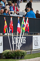 PRIZEGIVING: 1) FRANCE; 2) NETHERLANDS; 3) GERMANY: Furusiyya FEI NATIONS CUP Presented by Longines (Table A in Two Rounds) 160cm: 2014 NED-CHIO Rotterdam (Friday 20 June) CREDIT: Libby Law COPYRIGHT: LIBBY LAW PHOTOGRAPHY - NZL