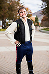 _E1_2336<br /> <br /> 1610-85 GCI Halloween Costumes<br /> <br /> October 31, 2016<br /> <br /> Photography by: Nathaniel Ray Edwards/BYU Photo<br /> <br /> &copy; BYU PHOTO 2016<br /> All Rights Reserved<br /> photo@byu.edu  (801)422-7322<br /> <br /> 2336