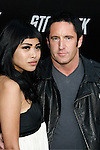 "HOLLYWOOD, CA. - April 30: Trent Reznor of Nine Inch Nails and guest arrive at the Los Angeles premiere of ""Star Trek"" at the Grauman's Chinese Theater on April 30, 2009 in Hollywood, California."