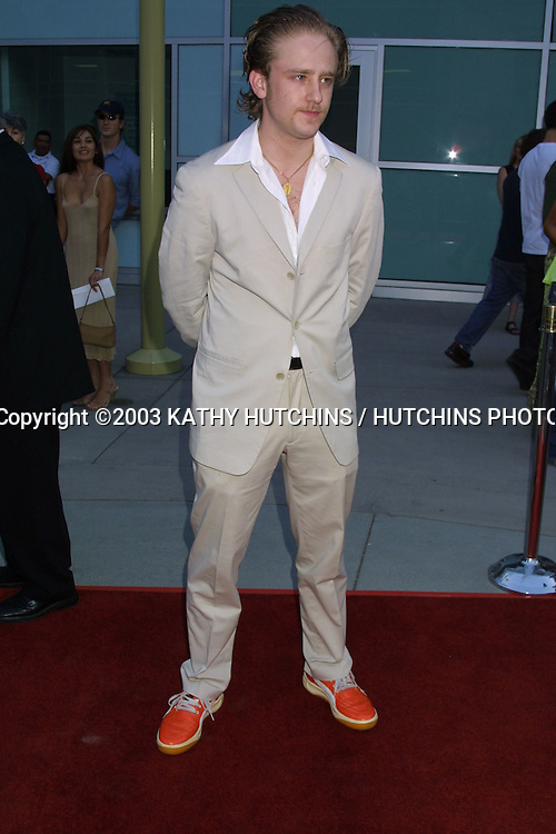 "©2003 KATHY HUTCHINS / HUTCHINS PHOTO.PREMIERE OF ""NORTHFOLK"".HOLLYWOOD, CA.JULY 10, 2OO3..BEN FOSTER"