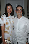 Sima Familant, Gabriel Ritter==<br /> LAXART 5th Annual Garden Party Presented by Tory Burch==<br /> Private Residence, Beverly Hills, CA==<br /> August 3, 2014==<br /> &copy;LAXART==<br /> Photo: DAVID CROTTY/Laxart.com==