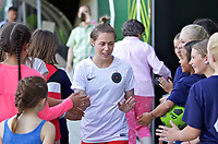 Portland, OR - Saturday May 27, 2017: Meghan Klingenberg during a regular season National Women's Soccer League (NWSL) match between the Portland Thorns FC and the Boston Breakers at Providence Park.