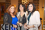 Pictured at Kerry Fashion Weekend Fashion Show on Friday night in the Carlton hotel, Tralee were l-r: Michelle Griffin (Killorglin) Evelyn Langford (Castlemaine) and Yvonne Griffin (Killorglin)..