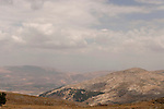 Samaria, a view from Mount Ebal towards Mount Kabir