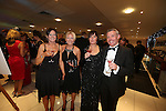 Smart Solutions Mad Hatters Ball<br /> l-r: Rowena Collier, Rachael Collier, Sue Robinson &amp; Graham Robinson.<br /> Mecure Holland House<br /> Cardiff<br /> 23.11.13<br /> &copy;Steve Pope-FOTOWALES