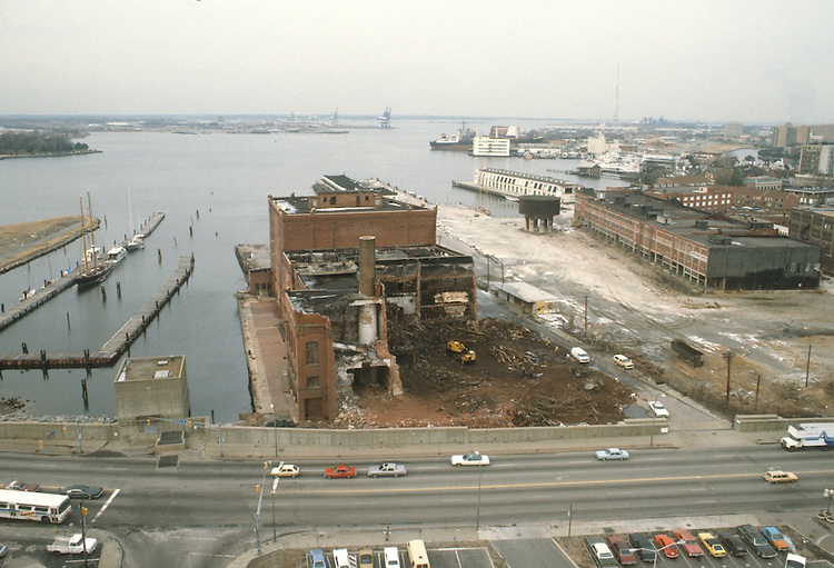 1983.UNDATED..Redevelopment.Downtown West (A-1-6)..BOUSH COLD STORAGE.HARBORPLACE.BEFORE...NEG#.NRHA#..