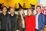"""Cast of Days Of Our Lives -  Galen Gering, Stephen Nichols, Lauren Koslow, Diedre Hall, Eddie Flynn sign book """"Days Of Our Lives 50 Years"""" by Greg Meng - author & co-executive producer on October 27, 2015 at Books & Greetings, Northvale, New Jersey. (Photo by Sue Coflin/Max Photos)"""