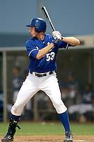 Geoff Baldwin - AZL Royals (2009 Arizona League) .Photo by:  Bill Mitchell/Four Seam Images..