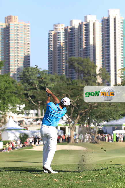 Berry Henson (USA) on the 18th on Day 3 of the UBS Hong Kong Open 2011...Photo GOLFFILE/Jenny Matthews.(Photo credit should read Jenny Matthews/GOLFFILE)..