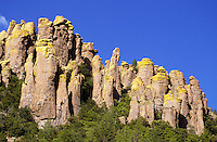 Eroded landscape with pinnacles and balanced rocks south of Tucson, Arizona, USA