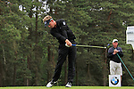 Luke Donald (ENG) tees off on the 8th tee during Day 3 of the BMW PGA Championship Championship at, Wentworth Club, Surrey, England, 28th May 2011. (Photo Eoin Clarke/Golffile 2011)