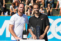 Xavier Malisse wins the 6th Optima Open vs Pete Sampras  in Knokke - Belgium