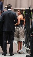 June 30, 2012 Mariska Hargitay, Peter Hermann attend the Alec Baldwin and Hilaria Thomas Wedding Day at Basilica of St. Patrick's Old Cathedral in Little Italy in New York City.Credit:© RW/MediaPunch Inc. /*NORTEPHOTO.COM*<br /> *SOLO*VENTA*EN*MEXiCO* *CREDITO*OBLIGATORIO** *No*Venta*A*Terceros* *No*Sale*So*third* ***No Se*Permite*Hacer*Archivo** *No*Sale*So*third*©Imagenes con derechos de autor,©todos reservados. El uso de las imagenes está sujeta de pago a nortephoto.com El uso no autorizado de esta imagen en cualquier materia está sujeta a una pena de tasa de 2 veces a la normal. Para más información: nortephoto@gmail.com* nortephoto.com.
