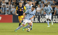 Kansas City, KS - Wednesday September 20, 2017: Diego Rubio during the 2017 U.S. Open Cup Final Championship game between Sporting Kansas City and the New York Red Bulls at Children's Mercy Park.