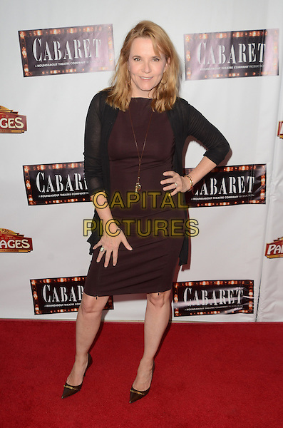 HOLLYWOOD, CA - JULY 20: Lea Thompson at the opening of 'Cabaret' at the Pantages Theatre on July 20, 2016 in Hollywood, California. <br /> CAP/MPI/DE<br /> &copy;DE/MPI/Capital Pictures