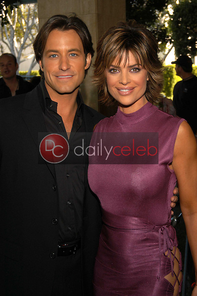 Ty Treadway and  Lisa Rinna