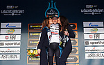 Tiesj Benoot (BEL) Lotto-Soudal wins the Young Riders Maglia Bianca after Stage 7 of the 53rd edition of the Tirreno-Adriatico 2018 a 10km individual time trial around San Benedetto del Tronto, Italy. 13th March 2018.<br /> Picture: LaPresse/Spada | Cyclefile<br /> <br /> <br /> All photos usage must carry mandatory copyright credit (&copy; Cyclefile | LaPresse/Spada)