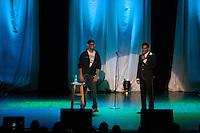 Aziz Ansari performing live at the Royal Oak Musioc Theatre in Royal Oak, Michigan on May 5, 2012. © Joe Gall / MediaPunch Inc.