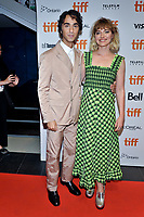 """05 September 2019 - Toronto, Ontario Canada - Alex Wolff, Imogen Poots. 2019 Toronto International Film Festival - """"Castle In The Ground"""" Premiere held at TIFF Bell Lightbox. <br /> CAP/ADM/BPC<br /> ©BPC/ADM/Capital Pictures"""