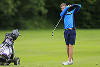 Zach Kirdy (Dun Laoghaire) during the Connacht U14 Boys Amateur Open, Ballinasloe Golf Club, Ballinasloe, Galway,  Ireland. 10/07/2019<br /> Picture: Golffile | Fran Caffrey<br /> <br /> <br /> All photo usage must carry mandatory copyright credit (© Golffile | Fran Caffrey)