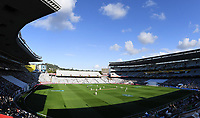 General view.<br /> New Zealand Blackcaps v England. 1st day/night test match. Eden Park, Auckland, New Zealand. Day 1, Thursday 22 March 2018. &copy; Copyright Photo: Andrew Cornaga / www.Photosport.nz