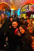 Goths, Absintherie Sixtina (Absinthe Bar), Leipzig, Saxony, Germany