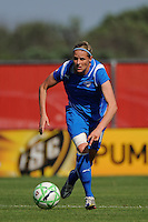 Kelly Smith (10) of the Boston Breakers. Sky Blue FC defeated the Boston Breakers 1-0 during a Women's Professional Soccer match at Yurcak Field in Piscataway, NJ, on July 4, 2009.