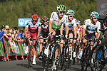Igor Anton (ESP) Team Dimension Data approaches the finish line at the end of Stage 19 of the La Vuelta 2018, running 154.4km from Lleida to Andorra, Naturlandia, Andorra. 14th September 2018.                   <br /> Picture: Colin Flockton | Cyclefile<br /> <br /> <br /> All photos usage must carry mandatory copyright credit (© Cyclefile | Colin Flockton)