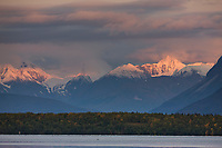 Kejulik mountains, Naknek lake, Katmai National Park, Alaska.