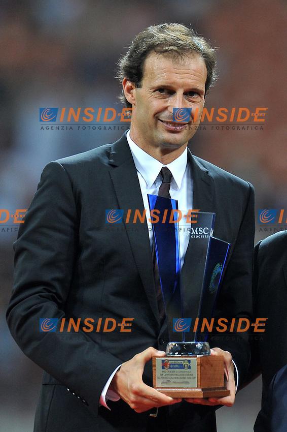 "Massimiliano ALLEGRI (Milan).Milano 21/8/2011 Stadio ""Meazza"".Trofeo Berlusconi.Football Calcio Milan Vs Juventus.Foto Insidefoto Alessandro Sabattini..."