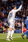 Real Madrid's Alvaro Morata during Copa del Rey match between Real Madrid and Celta de Vigo at Santiago Bernabeu Stadium in Madrid, Spain. January 18, 2017. (ALTERPHOTOS/BorjaB.Hojas)