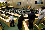 The Majlis or Parliament of the Islamic Republic of Iran, Tehran, Iran, 12 July 2005. <br />