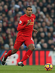 Joel Matip of Liverpool Joel Matip of Liverpool during the Premier League match at the Anfield Stadium, Liverpool. Picture date: November 26th, 2016. Pic Simon Bellis/Sportimage