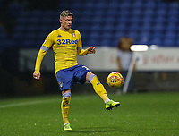 Leeds United's Ezgjan&nbsp;Alioski <br /> <br /> Photographer Andrew Kearns/CameraSport<br /> <br /> The EFL Sky Bet Championship - Bolton Wanderers v Leeds United - Saturday 15th December 2018 - University of Bolton Stadium - Bolton<br /> <br /> World Copyright &copy; 2018 CameraSport. All rights reserved. 43 Linden Ave. Countesthorpe. Leicester. England. LE8 5PG - Tel: +44 (0) 116 277 4147 - admin@camerasport.com - www.camerasport.com