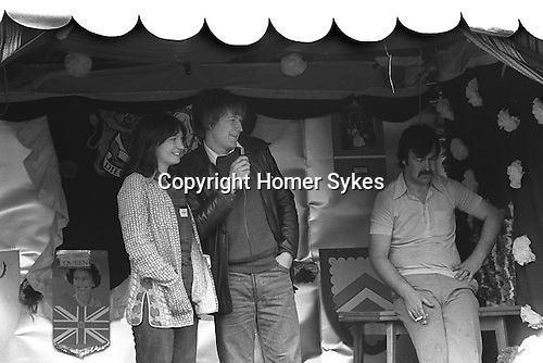 "Silver Jubilee Street Party 1977 Barking east London. UK Gavin Weightman journalist, former documentary film maker, author and ""populat historian"".   Working for New Society."