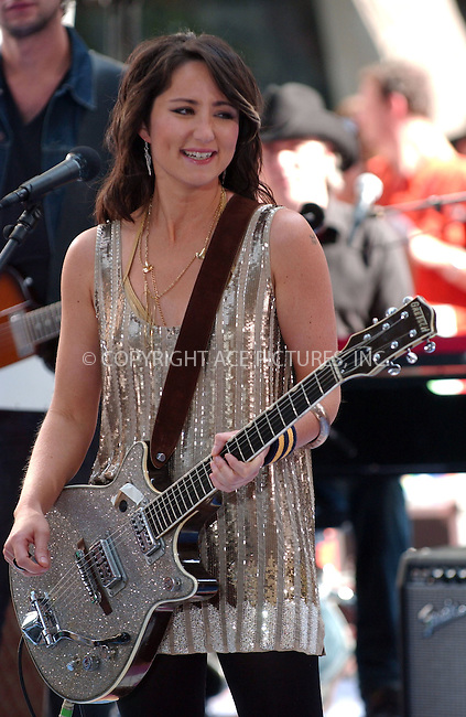 "WWW.ACEPIXS.COM . . . . . ....July 13 2007, New York City....Recording artist KT Tunstall performs on NBC's ""The Today Show"" at the Rockerfeller Center in midtown Manhattan.....Please byline: KRISTIN CALLAHAN - ACEPIXS.COM.. . . . . . ..Ace Pictures, Inc:  ..(646) 769 0430..e-mail: info@acepixs.com..web: http://www.acepixs.com"