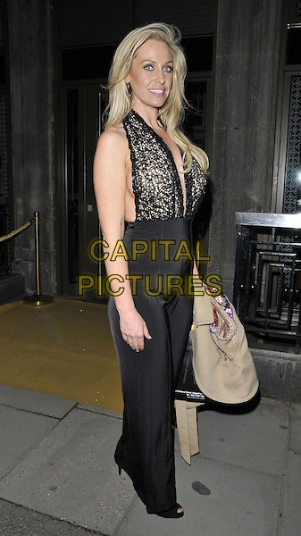 LONDON, ENGLAND - FEBRUARY 27: Josie Gibson attends the Inanch London hair extensions brand launch party, Iberica Marylebone bar &amp; restaurant, Great Portland St., on Thursday February 27, 2014 in London, England, UK.<br /> CAP/CAN<br /> &copy;Can Nguyen/Capital Pictures