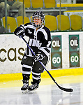 8 February 2009: University of New Hampshire Wildcats' forward Kelly Paton, a Junior from Woodstock, Ontario, in action against the University of Vermont Catamounts in the second game of a weekend series at Gutterson Fieldhouse in Burlington, Vermont. The Wildcats defeated the lady Catamounts 6-2 to sweep the 2-game series. Mandatory Photo Credit: Ed Wolfstein Photo