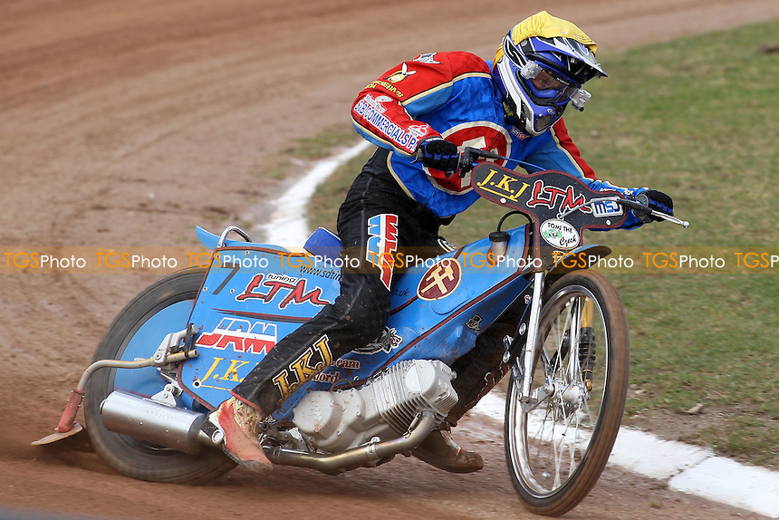 Lubos Tomicek of Ipswich - Ipswich Witches vs Lakeside Hammers - Craven Shield Speedway at Foxhall Stadium, Ipswich - 21/03/08 - MANDATORY CREDIT: Gavin Ellis/TGSPHOTO - Self billing applies where appropriate - Tel: 0845 094 6026