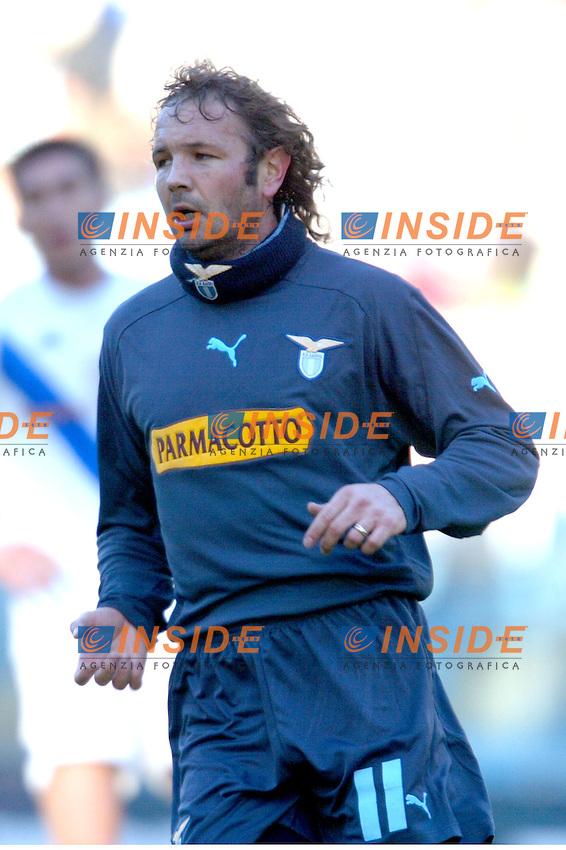 Roma 11/1/2004 <br /> Lazio Brescia 0-1 <br /> Sinisa Mihailovic Lazio<br /> Photo Andrea Staccioli Insidefoto