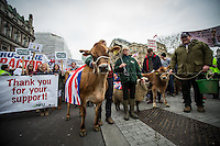 "23.03.2016 - ""What's Your Plan For Farming Mr. Cameron?"" - Farmers Demo in London"