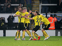 Burton Albion's David Templeton celebrates scoring his sides first goal <br /> <br /> Photographer Mick Walker/CameraSport<br /> <br /> The EFL Sky Bet League One - Burton Albion v Coventry City - Saturday 17th November 2018 - Pirelli Stadium - Burton upon Trent<br /> <br /> World Copyright &copy; 2018 CameraSport. All rights reserved. 43 Linden Ave. Countesthorpe. Leicester. England. LE8 5PG - Tel: +44 (0) 116 277 4147 - admin@camerasport.com - www.camerasport.com
