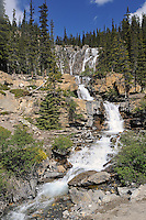 Tangle Falls<br /> Jasper National Park<br /> Alberta<br /> Canada
