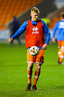 Blackpool's Owen Watkinson<br /> <br /> Photographer Alex Dodd/CameraSport<br /> <br /> The FA Youth Cup Third Round - Blackpool U18 v Derby County U18 - Tuesday 4th December 2018 - Bloomfield Road - Blackpool<br />  <br /> World Copyright &copy; 2018 CameraSport. All rights reserved. 43 Linden Ave. Countesthorpe. Leicester. England. LE8 5PG - Tel: +44 (0) 116 277 4147 - admin@camerasport.com - www.camerasport.com