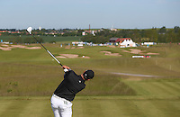 Jake Roos (RSA) drives down the 7th during Round Two of the 2015 Nordea Masters at the PGA Sweden National, Bara, Malmo, Sweden. 05/06/2015. Picture David Lloyd | www.golffile.ie