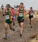 Runners compete in the boys 4A 5k during the Northern Nevada Regional Cross Country meet at Shadow Mountain Park on Friday, October 28, 2016.