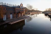 Saint-Leu quarter, Amiens, Somme, Picardie, France. Picture by Manuel Cohen