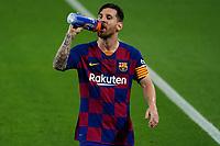 16th July 2020; Camp Nou, Barcelona, Catalonia, Spain; La Liga Football, Barcelona versus Osasuna; Leo Messi during the drinks break