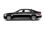 Car Driver side profile view of a 2018 Genesis G90 Ultimate 4 Door Sedan Side View